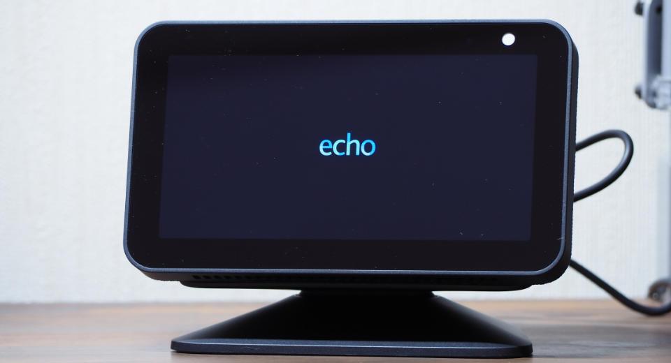 echo show 5 立ち上げ時の画像